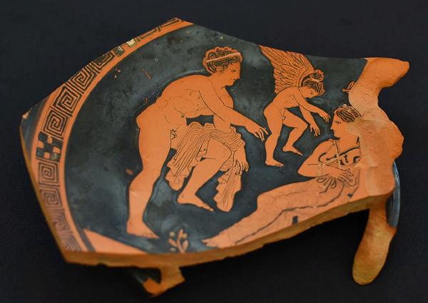 фанагория-краснофигурная керамика