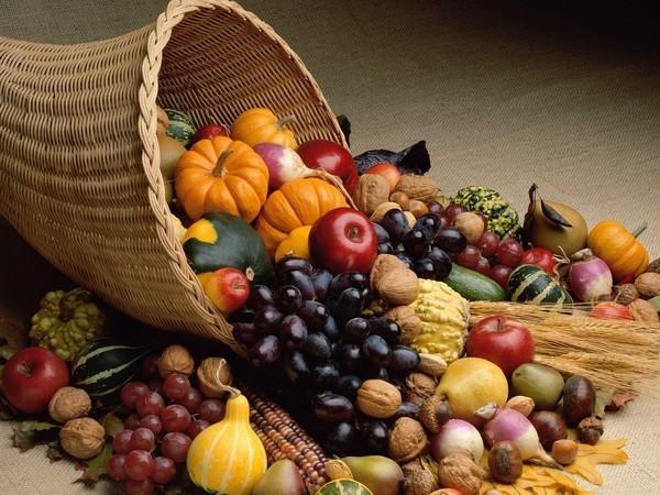 фрукты-осень