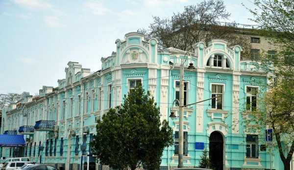Доходный дом Давыдова 1908г.-управление постройки порта