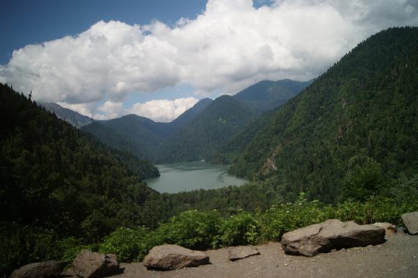 00-абхазия-озеро рица