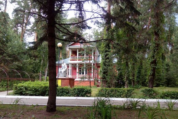 Дача Сталина в Мухалатке