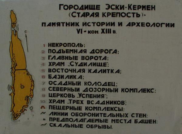 Пещерныйгород Эски-Кермен -4-13вв