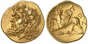 Боспорский царь Евмел, 309-303 до н. э.