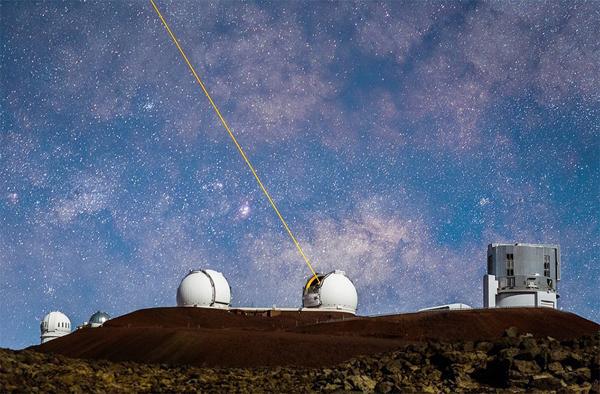 звёздное небо- лазер-телескоп