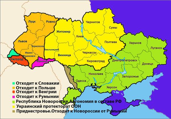 карта-украины