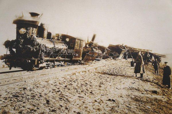 крушение поезда 1888