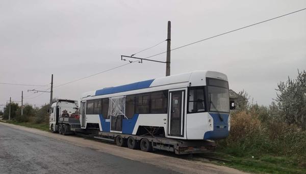 Трамвай прибыл в Евпаторию 31 октября