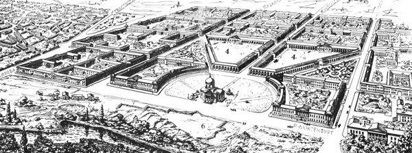 план Симферополя 1794 года.