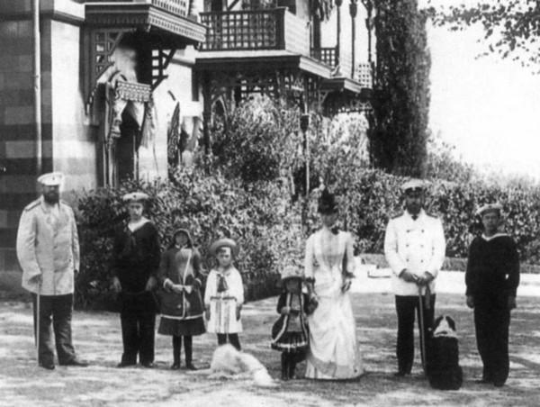 Александра III у Малого Ливадийского