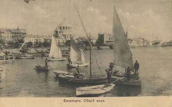 евпатория- вид с моря