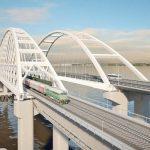 Первые поезда пройдут по Крымскому мосту перед Новым годом