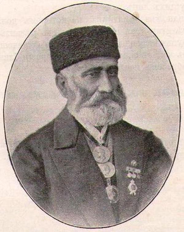 Садук Ильич Шакай (1822 — 1895) — создатель первого сада в городе