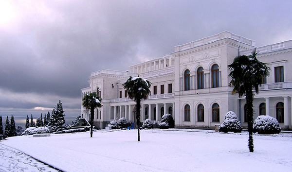 Ливадийский дворец - летняя резиденция царей