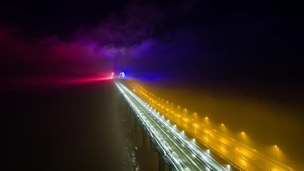мост-ночью