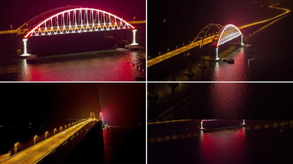 мост-подсветка