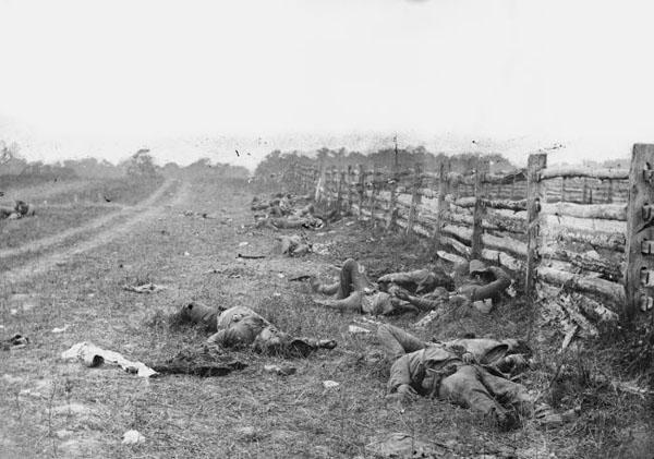 Битва при Антиетаме -гражданская война -сентябрь 1862 г.