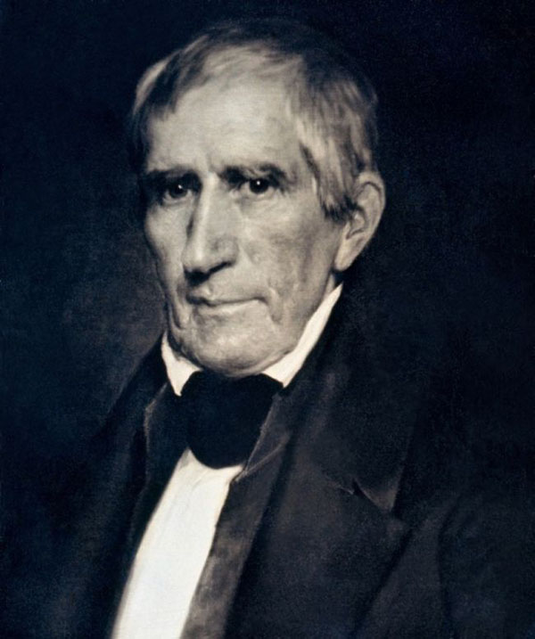 Президент Уильяма Генри Харрисона, 1850 г