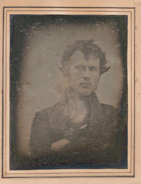 Первое сэлфи Robert Cornelius,1839