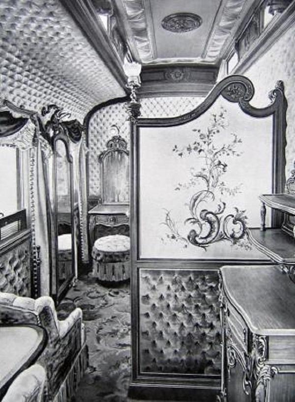 Опочивальни был вагон Салон-столовая.