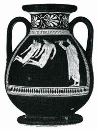 пелика мастеров Евфимида и Ефрония. Аттика,-
