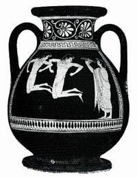 пелика мастеров Евфимида и Ефрония. Аттика,