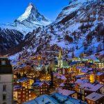 Один из уникальнейших курортов Швейцарии, Церматт