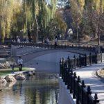 Закончен ремонт набережной реки Салгир.