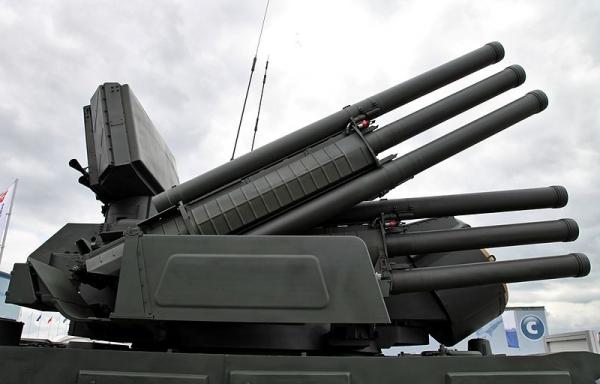 Зенитный ракетно-пушечный комплекс -Панцирь-С1