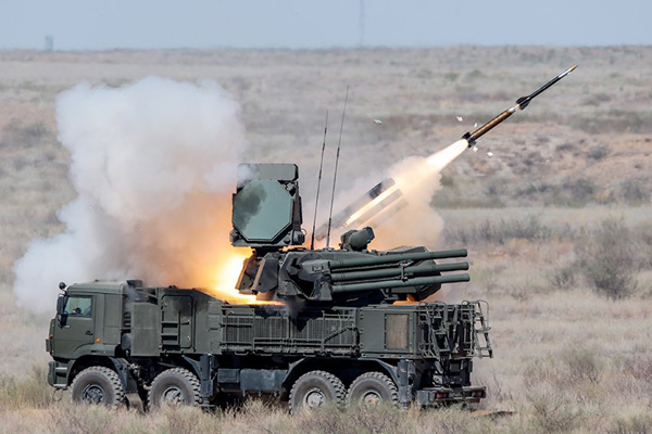 Зенитный ракетно-пушечный комплекс =Панцирь-С1