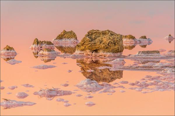 Кояшское солевое озеро-