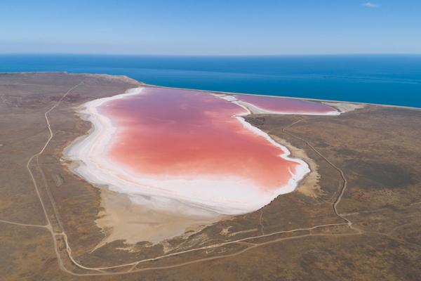 Кояшское солевое озеро=-