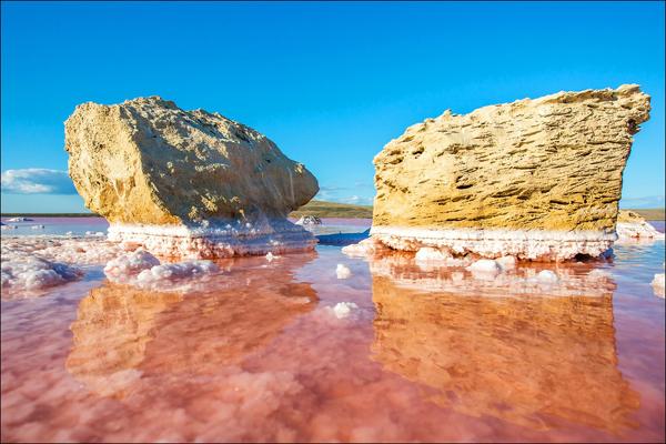 Кояшское солевое озеро--=