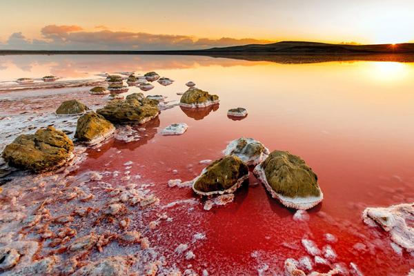 Кояшское солевое озеро