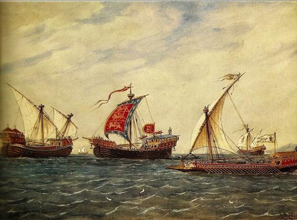 венецианские корабли-15 век
