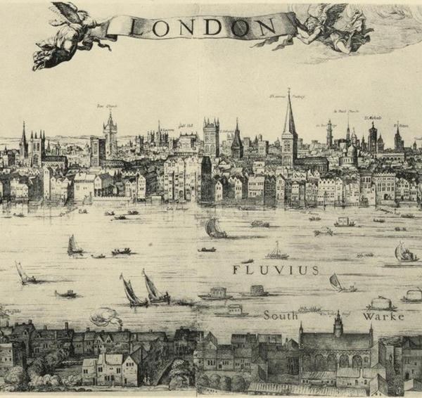 лондон-17 век