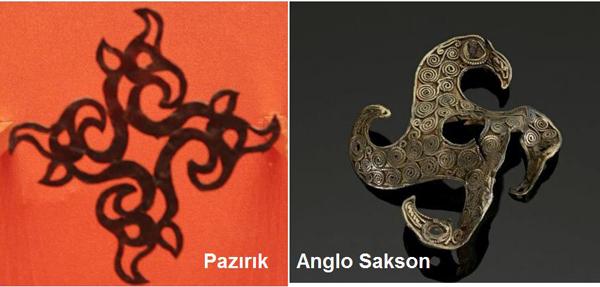 пазирик и англо-саксон