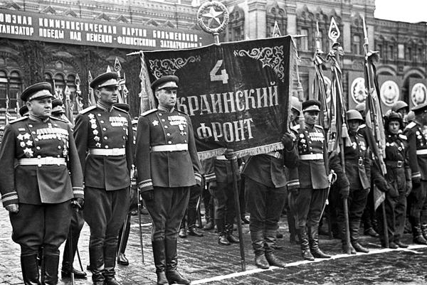 штандарты для сводных полков