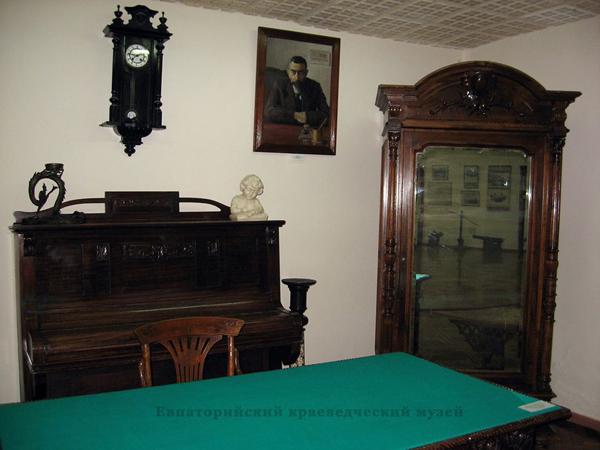 экспозиции музея, посвященный посвященный д-ру Черкесу С.И.
