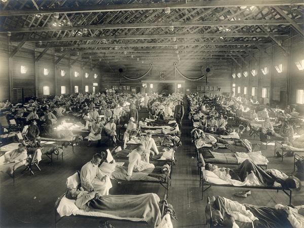 00-Emergency_hospital_during_Influenza_epidemic,_Camp_Funston,_Kansas_
