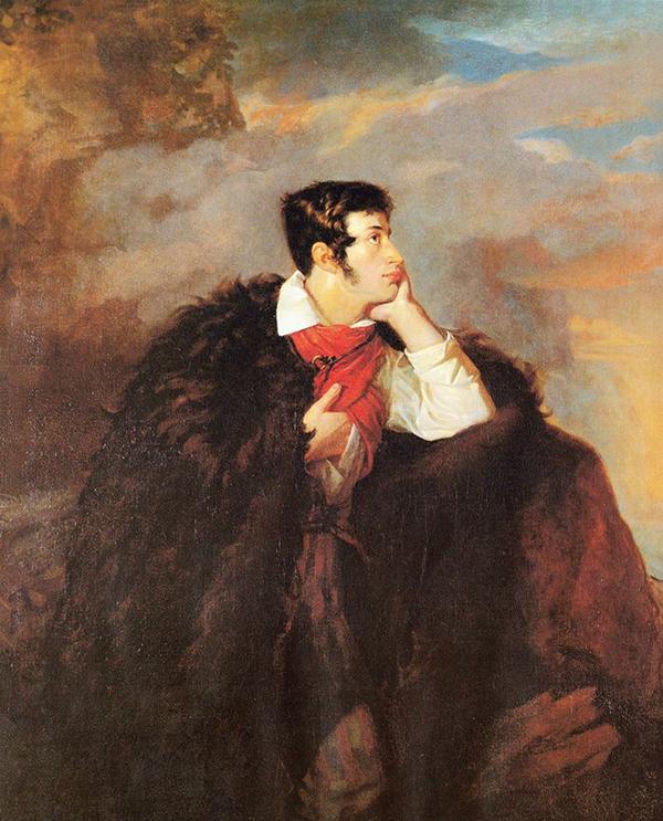 Мицкевич на скале Аю-Даг. Худ. В.Ванькович. 1828 г.