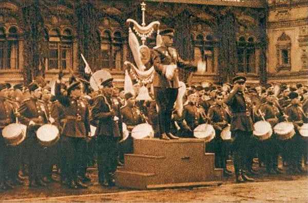 Параде Победы 24 июня 1945-Сводный оркестр