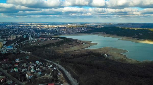 Симферопольское водохранилище-город