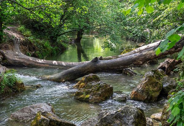 Чоргуньский мост-акведук на реке Черная-