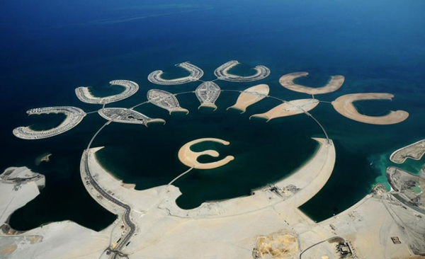 Бахрейн это вам не 1300 метров набережной в Евпатории три года строить