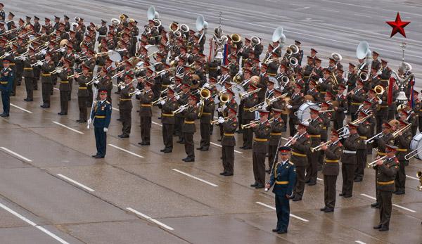 парад Победы оркестр