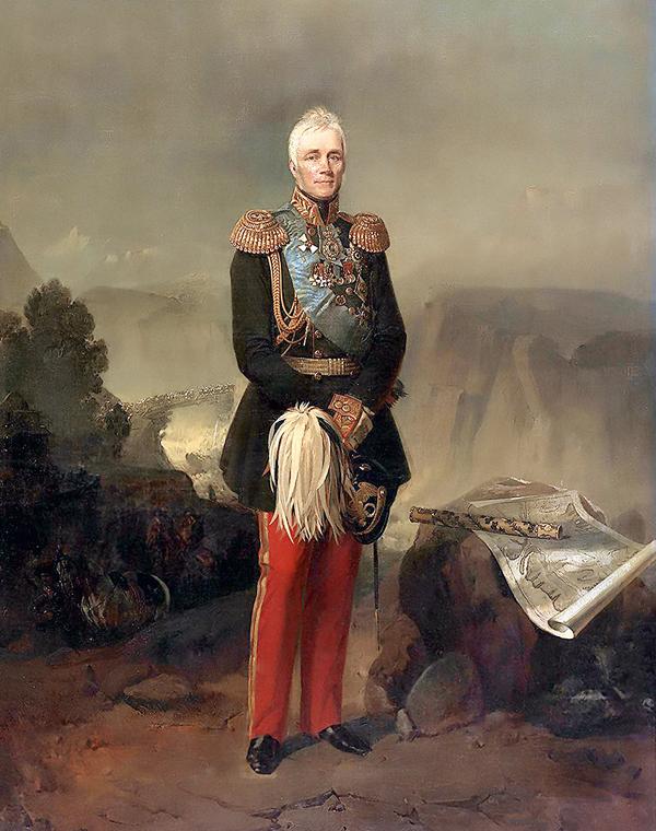 . Портрет М.С. Воронцова. 1861 г.