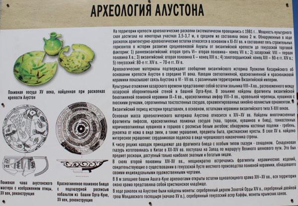 археология алустона