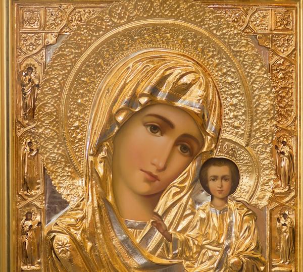 иконы Казанской Божьей матери,