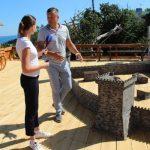 Крепость Алустон — музей под открытым небом