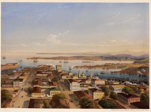 Севастопольская бухта во второй половины 19 века